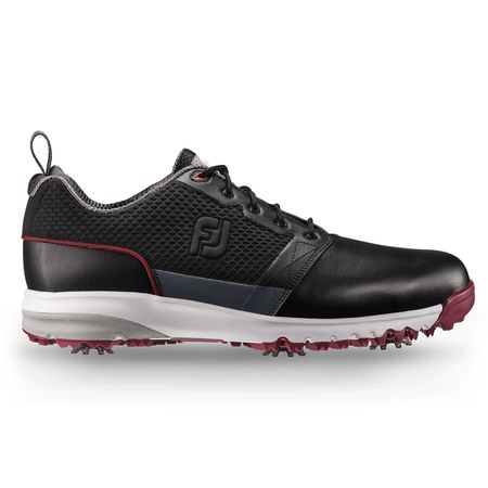 Golf undefined FootJoy Contour FIT Men's Golf Shoe - Black (Previous Season Style) made by FootJoy