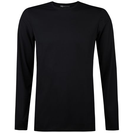 Golf undefined LS Tee Black made by Y-3 SPORT