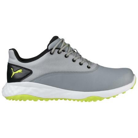 Shoes PUMA Grip FUSION Men's Golf Shoe - Grey/Black Puma Golf Picture