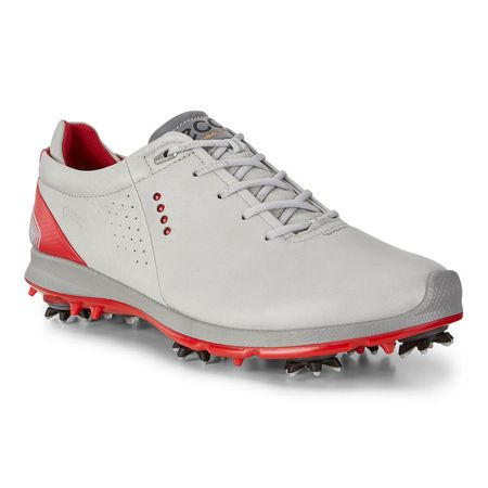 Golf undefined ECCO BIOM G 2 Free GTX Men's Golf Shoe - Grey/Red made by ECCO