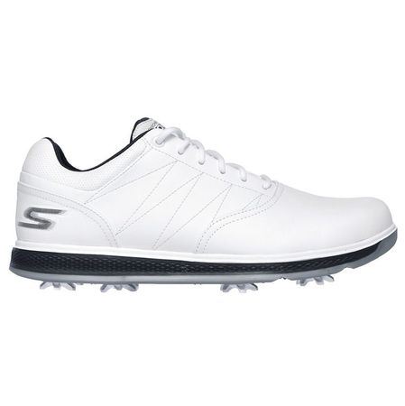 Shoes Skechers GO GOLF Pro V.3 Men's Golf Shoe - White/Navy Skechers Picture