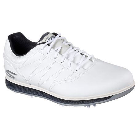 Golf undefined Skechers GO GOLF Pro V.3 Men's Golf Shoe - White/Navy made by Skechers