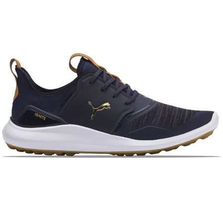 Shoes Ignite NXT Peacoat/Team Gold/Bright White - SS19 Puma Golf Picture