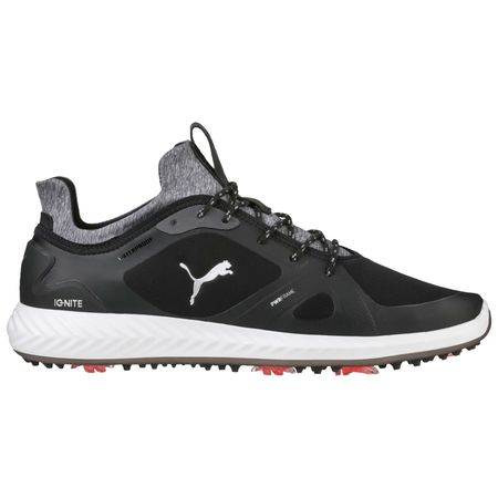 Golf undefined PUMA IGNITE PWRADAPT Men's Golf Shoe - Black/White made by Puma Golf