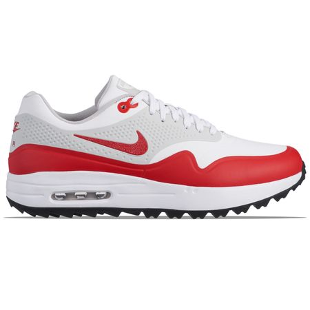 Shoes Air Max 1G White/University Red - SS19 Nike Golf Picture
