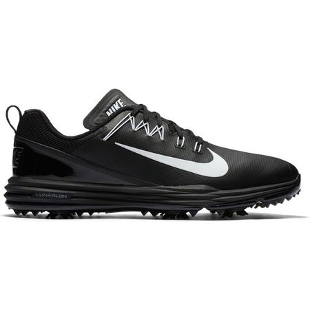 Golf undefined Nike Lunar Command 2 Men's Golf Shoe - Black/White made by Nike Golf