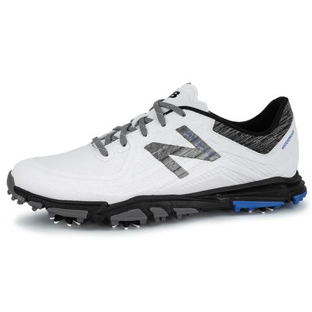 Golf undefined New Balance Minimus Tour Men's Golf Shoe - White/Black made by New Balance