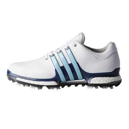 Golf undefined adidas TOUR 360 2.0 Men's Golf Shoe - White/Blue made by Adidas Golf