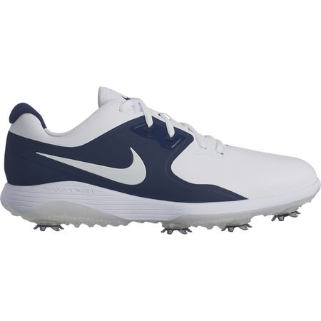 Golf undefined Nike Vapor Pro Men's Golf Shoe - White/Navy made by Nike