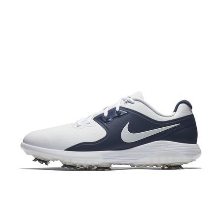 Shoes Nike Vapor Pro Men's Golf Shoe - White/Navy Nike Golf Picture