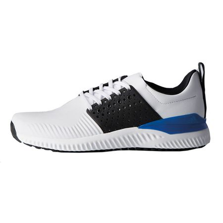 Golf undefined adidas adicross Bounce Men's Golf Shoe - White/Black made by Adidas Golf