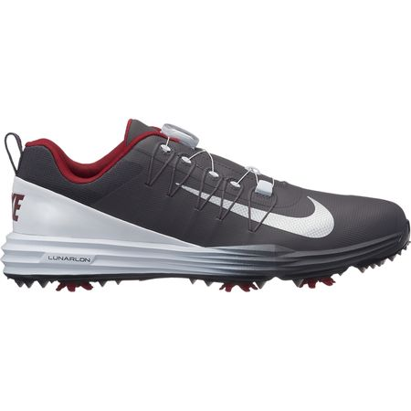 Golf undefined Nike Lunar Command 2 BOA Men's Golf Shoe - Grey/White made by Nike