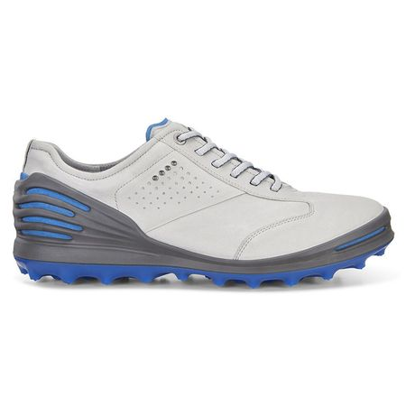 Golf undefined ECCO Cage Pro Men's Golf Shoe - Grey/Blue made by ECCO