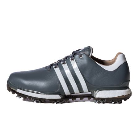 Golf undefined adidas TOUR 360 2.0 Men's Golf Shoe - Grey/White made by Adidas Golf