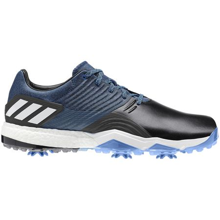 Golf undefined adidas adipower 4ORGED Men's Golf Shoe - Black/Blue made by Adidas Golf