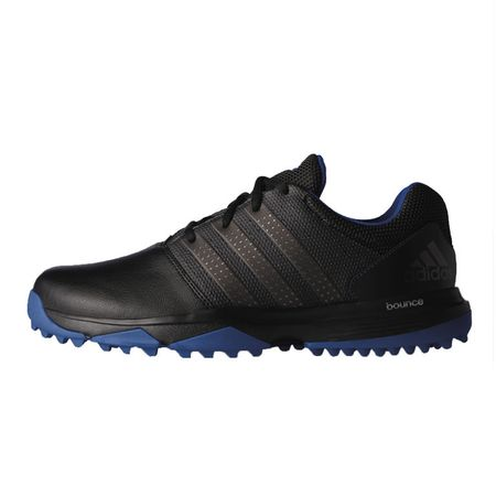 Shoes adidas 360 Traxion Men's Golf Shoe - Black/Silver Adidas Golf Picture
