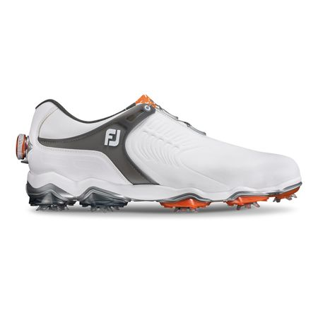 Golf undefined FooJoy Tour-S BOA Men's Golf Shoe - White/Black made by FootJoy