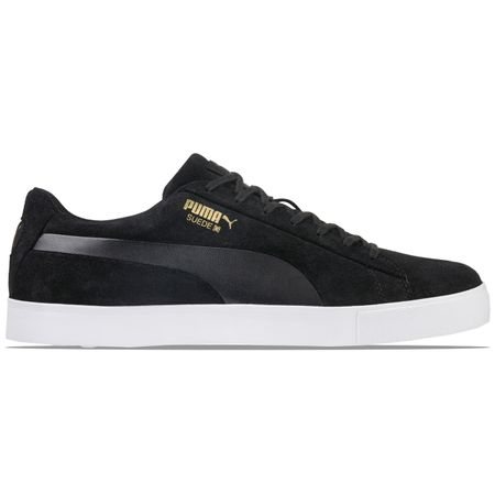Shoes Suede Golf Shoe Puma Black - AW18 Puma Golf Picture