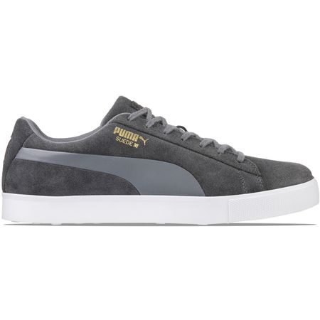 Shoes Suede Golf Shoe Quiet Shade - AW18 Puma Golf Picture