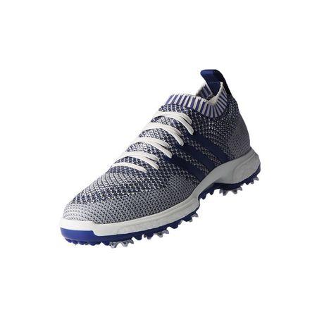 Shoes adidas TOUR 360 Knit Men's Golf Shoe - Grey/Purple Adidas Golf Picture