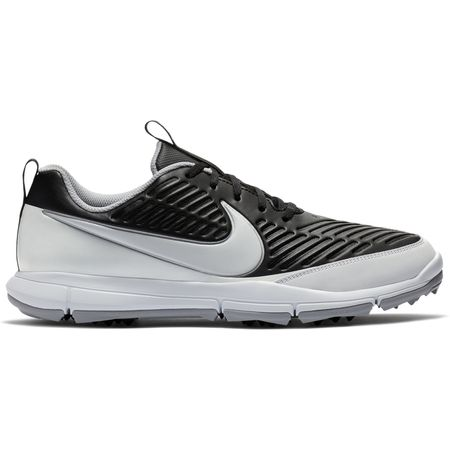 Shoes Nike Explorer 2 Men's Golf Shoe - Black/White Nike Golf Picture