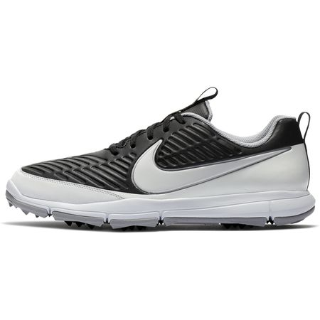 Golf undefined Nike Explorer 2 Men's Golf Shoe - Black/White made by Nike Golf