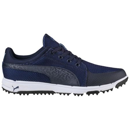 Shoes PUMA Grip Sport Tech Men's Golf Shoe - Navy Puma Golf Picture