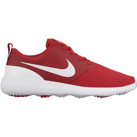 Golf undefined Nike Roshe G Men's Golf Shoe - Red/White made by Nike