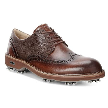 Golf undefined ECCO Lux Men's Golf Shoe - Brown made by ECCO
