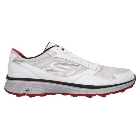 Shoes Skechers GO GOLF Fairway Men's Golf Shoe - White/Black/Red Skechers Picture