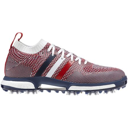 Shoes adidas TOUR 360 Knit USA Men's Golf Shoe - Red/White/Blue Adidas Golf Picture