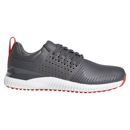 Golf undefined adicross Bounce Men's Golf Shoe - Grey/Red made by Adidas Golf