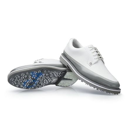 Shoes Tuxedo Gallivanter Men's Golf Shoe - White/Grey G/FORE Picture