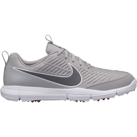 Golf undefined Nike Explorer 2 Men's Golf Shoe - Grey/White made by Nike