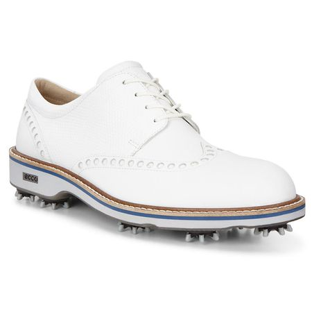 Golf undefined ECCO Lux Men's Golf Shoe - White made by ECCO
