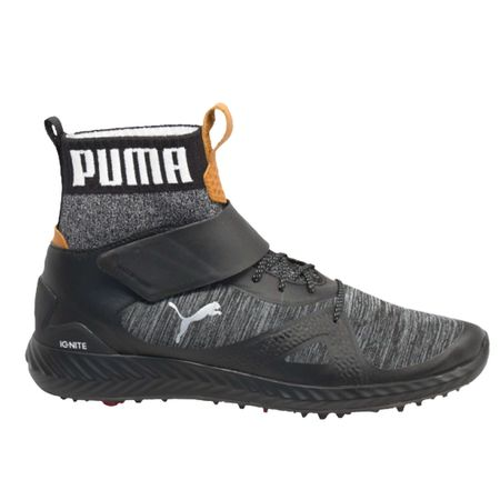 Golf undefined PUMA PWRADAPT Hi-Top Men's Golf Shoe - Black made by Puma Golf
