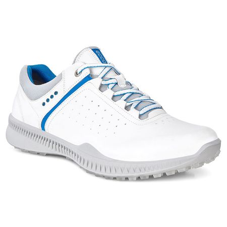 Golf undefined ECCO S-Drive Perf Men's Golf Shoe - White/Blue made by ECCO