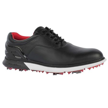Shoes Callaway LaGrange Men's Golf Shoe - Black/White Callaway Golf Picture