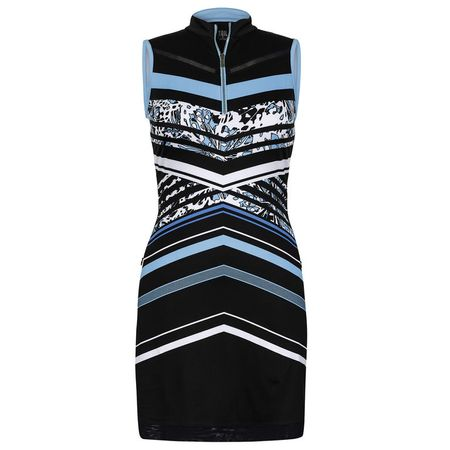 Golf undefined Into Blues - Alyssa Flutter Stripe Dress made by Tail Activewear