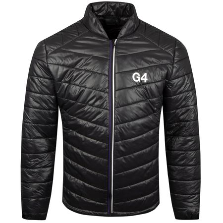 Golf undefined LS Tech Zip Up Onyx - AW18 made by G/FORE