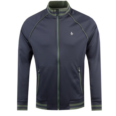 Golf undefined The Earl Track Jacket Black Iris - AW18 made by Original Penguin
