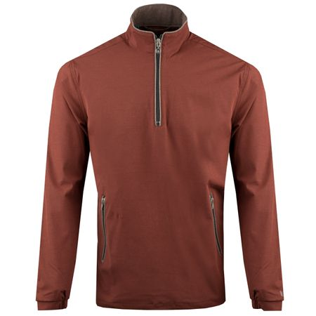 Golf undefined Quarter Zip Windbreaker Redwood - AW18 made by Linksoul