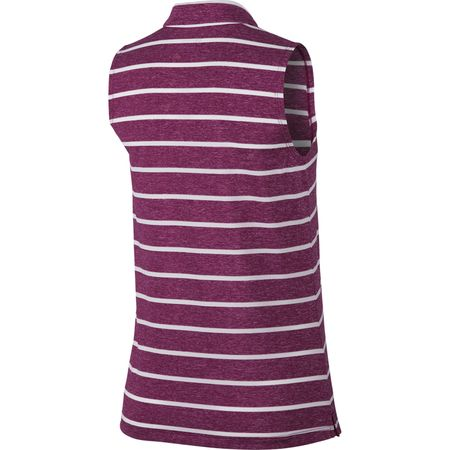 Golf undefined Sleeveless Striped Victory Polo made by Nike