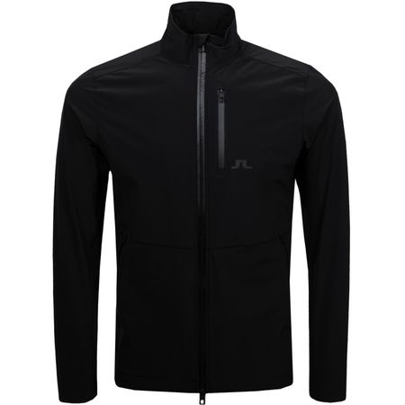 Golf undefined Adapt Performance Jacket Lux Softshell Black - AW18 made by J.Lindeberg