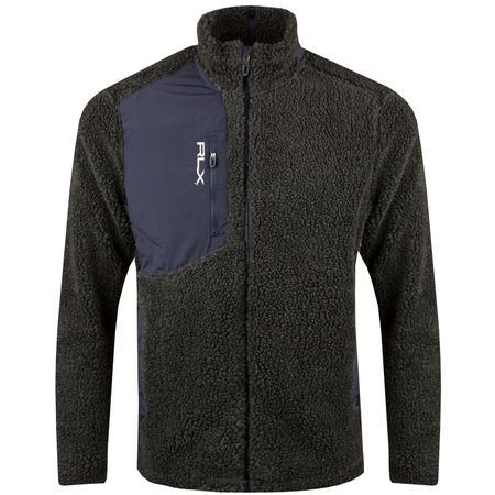 Golf undefined Sherpa Fleece Avery Heather/French Navy - AW18 made by Polo Ralph Lauren