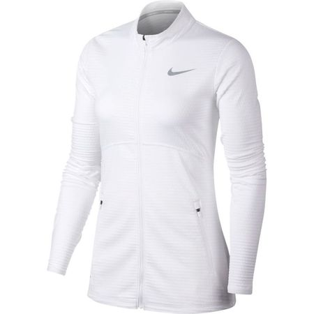 Golf undefined Nike Dry Women's Lucky Azalea Full Zip Jacket made by Nike Golf