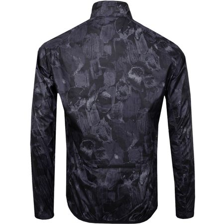 Golf undefined Yoko Trusty Stretch Wind Pro Jacket Black Sports Camo - AW18 made by J.Lindeberg