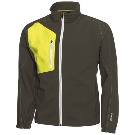 Golf undefined Angelo Gore-Tex Paclite Stretch Beluga/Lemonade/Snow - AW18 made by Galvin Green