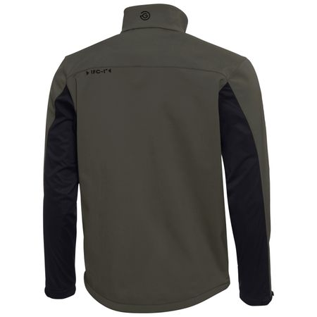 Golf undefined Lee Interface-1 Full Zip Jacket Beluga/Black - AW18 made by Galvin Green