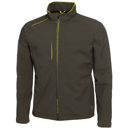 Golf undefined Alfred Gore-Tex Stretch Jacket Beluga/Lemonade - AW18 made by Galvin Green